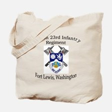 2nd Bn 23rd Infantry Tote Bag