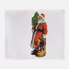 Old St. Nick Throw Blanket