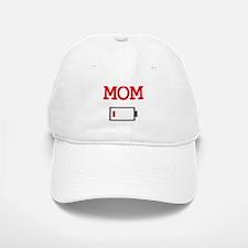 Mom Low Battery Baseball Baseball Baseball Cap