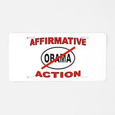 2012 ACTION Aluminum License Plate