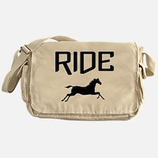 Ride...Horse Messenger Bag