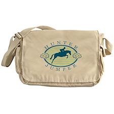Funny Horseback riding Messenger Bag