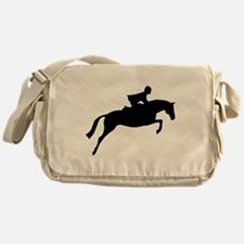 h/j horse & rider Messenger Bag