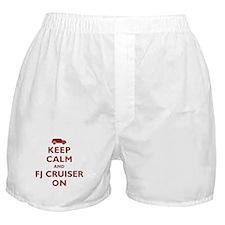 Keep Calm and FJ Cruiser On Boxer Shorts