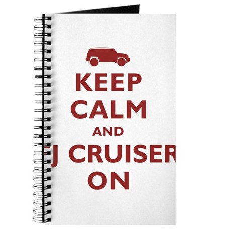 Keep Calm and FJ Cruiser On Journal