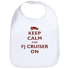 Keep Calm and FJ Cruiser On Bib