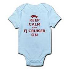 Keep Calm and FJ Cruiser On Infant Bodysuit
