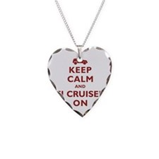 Keep Calm and FJ Cruiser On Necklace