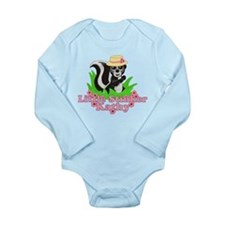 Little Stinker Kathy Long Sleeve Infant Bodysuit