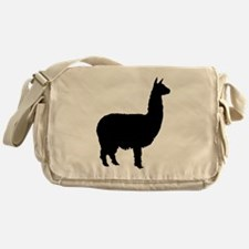 alpaca Messenger Bag