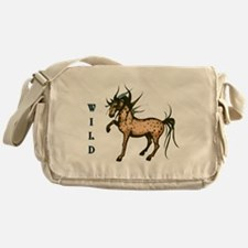 Wild and Free Horse Messenger Bag