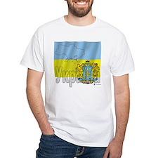 Silky Flag Ukraine (Cyr.) Shirt