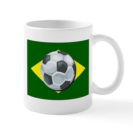 Brazil Soccer Mug