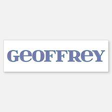 Geoffrey Blue Glass Bumper Bumper Bumper Sticker