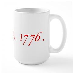 DECLARATION 3 Large Mug