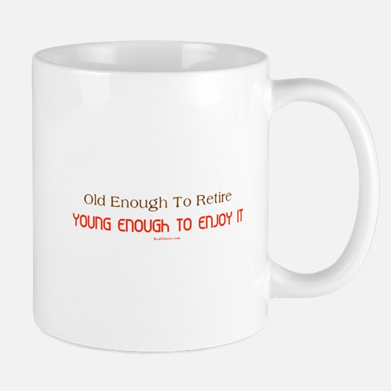 Young Retiree Mug