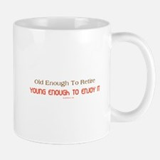 Young Retiree Small Small Mug