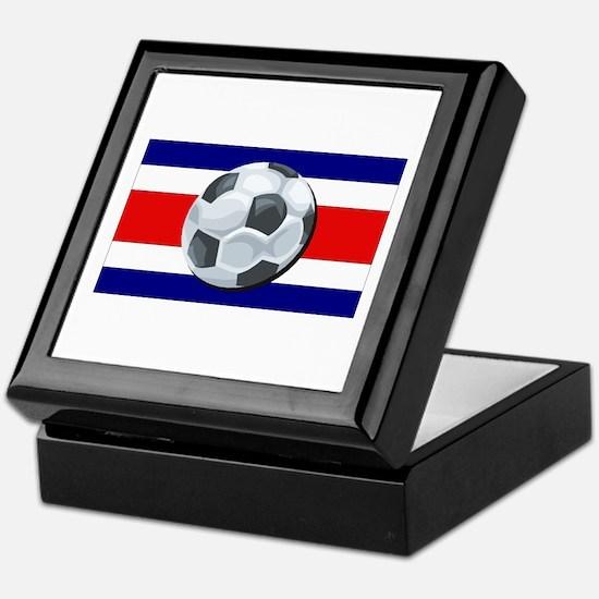 Costa Rica Soccer Keepsake Box