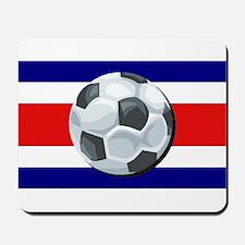 Costa Rica Soccer Mousepad