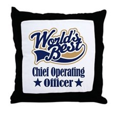 Chief Operating Officer Gift Throw Pillow