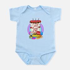Cake Lady Baked Goods Infant Bodysuit