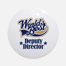 Deputy Director Gift Ornament (Round)