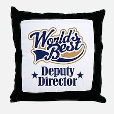 Deputy Director Gift Throw Pillow