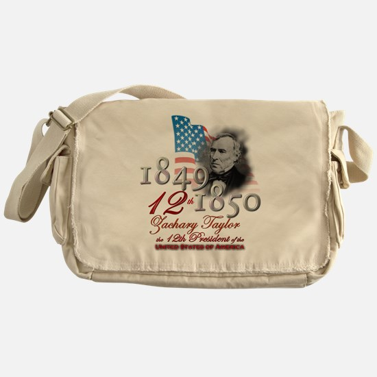 12th President - Messenger Bag