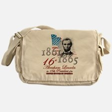 16th President - Messenger Bag