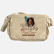 40th President - Messenger Bag