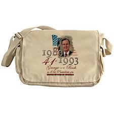 41st President - Messenger Bag