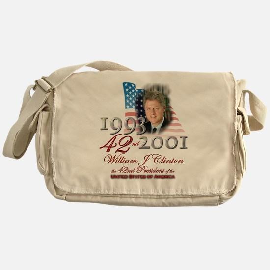 42nd President - Messenger Bag