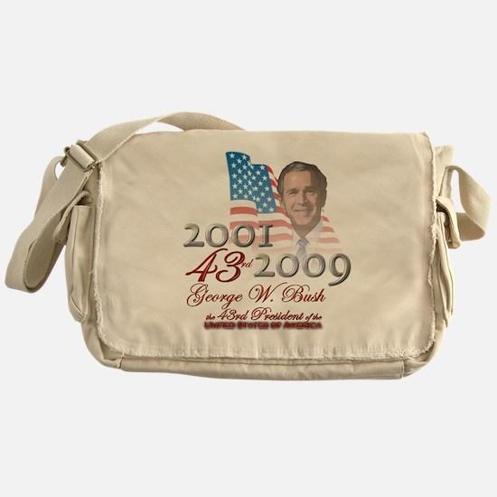 43rd President - Messenger Bag