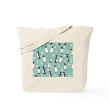 Penguins Puttin On The Ritz - Tote Bag