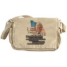 Ted Kennedy 1932 - 2009 ... Messenger Bag