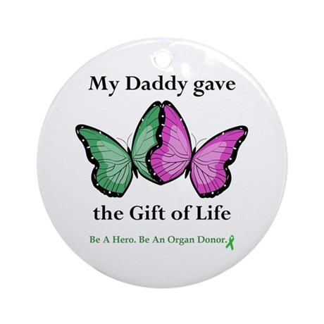 Daddy Gift Ornament (Round)