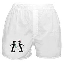 Penguin Love Boxer Shorts