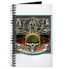 Army National Guard Skull and Journal
