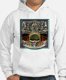 Army National Guard Skull and Hoodie