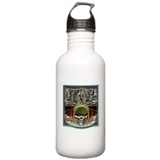Army National Guard Skull and Water Bottle
