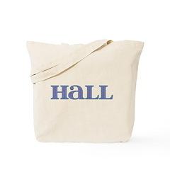 Hall Blue Glass Tote Bag