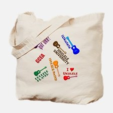 cliché ukulele Tote Bag