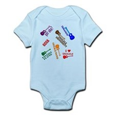 cliché ukulele Infant Bodysuit