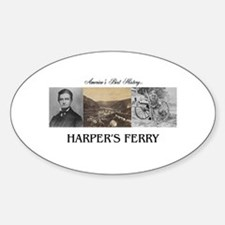 Harper's Ferry Americasbesthistory. Decal