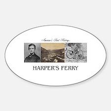 Harper's Ferry Americasbesthistory. Sticker (Oval)