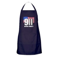 9-11 Never Forget Apron (dark)