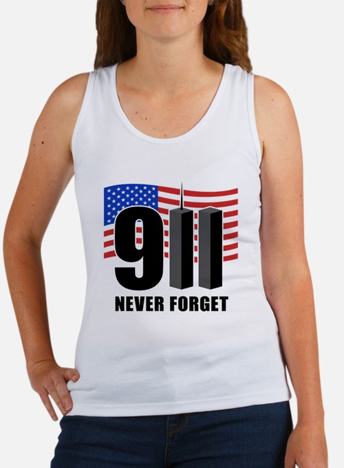 9-11 Never Forget Women's Tank Top