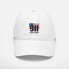 9-11 Never Forget Baseball Baseball Cap