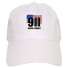 9-11 Never Forget Baseball Cap
