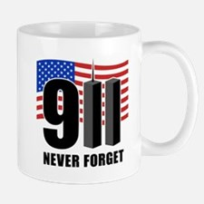 9-11 Never Forget Mug